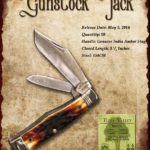 Tuna Valley Cutlery Gallery - 2014 Gunstock - Amber Stag