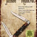 Tuna Valley Cutlery Gallery - 2015 Yankee Muskrat - Amber Stag