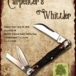 Tuna Valley Cutlery Gallery - 2016 Carpenter's Whittler - Amber Stag