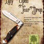 Tuna Valley Cutlery Gallery - 2016 Teardrop - Amber Stag