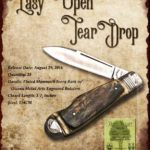Tuna Valley Cutlery Gallery - 2016 Teardrop - Mammoth Ivory