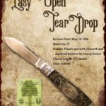 Tuna Valley Cutlery Gallery - 2016 Teardrop - Timekeeper