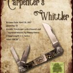 Tuna Valley Cutlery Gallery - 2017 Carpenter's Whittler - Timekeeper