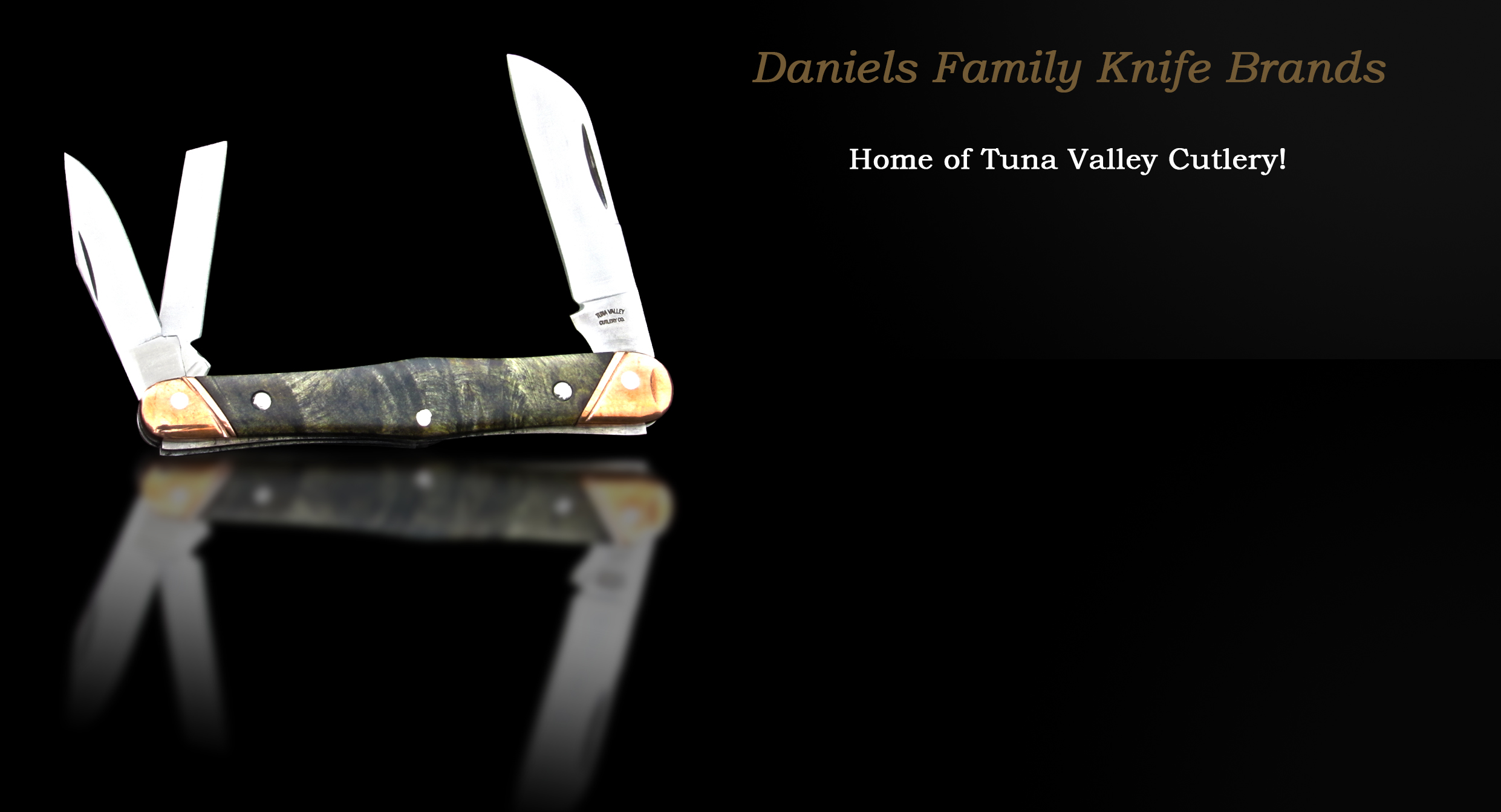 Tuna Valley Cutlery glass ad